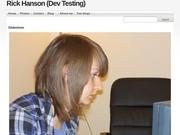 Rick Hanson (Dev Testing)