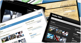 Customise your website with our high-quality templates